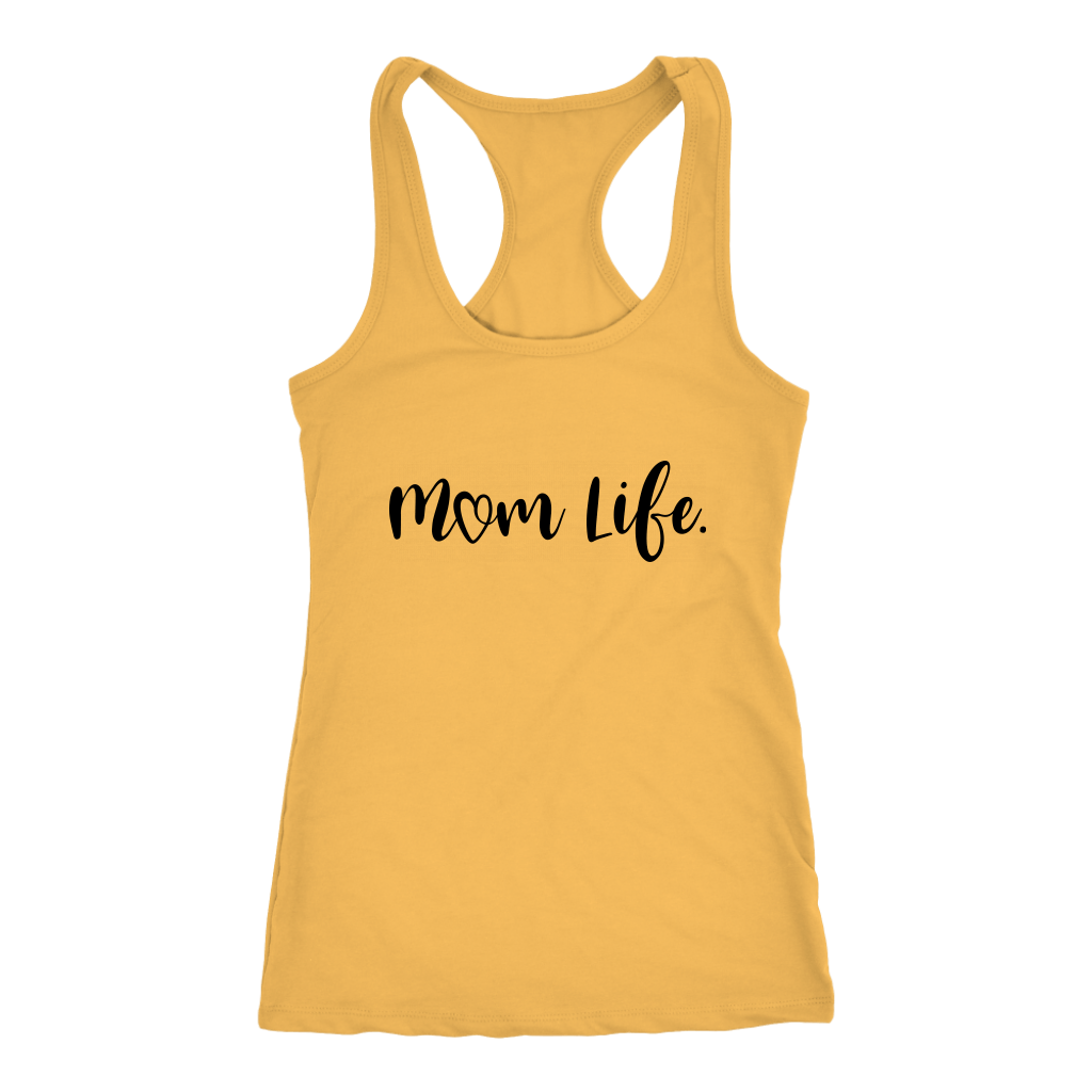 T-shirt - Mom Life Tank Top