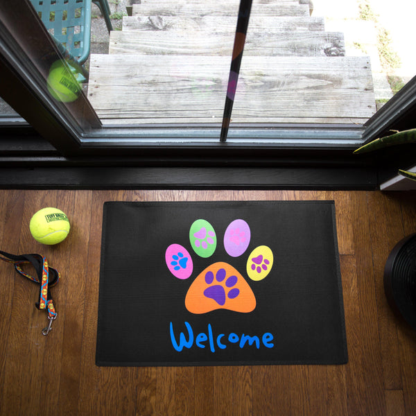 All Paws Welcome Indoor/Outdoor Mat