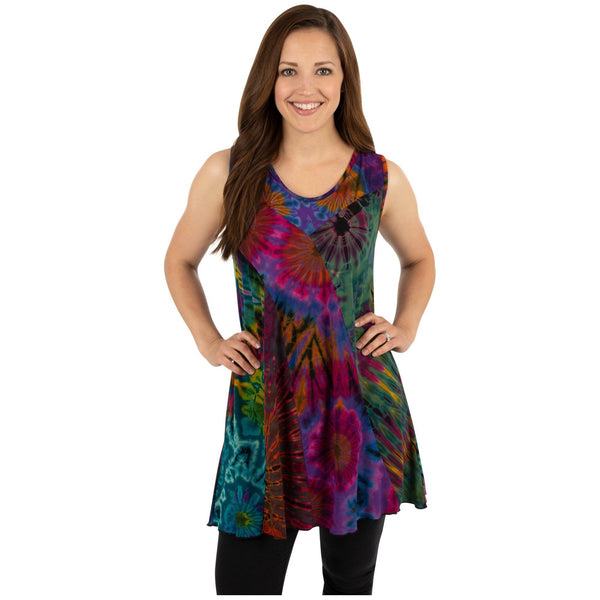 Brilliant Spirit Sleeveless Tunic