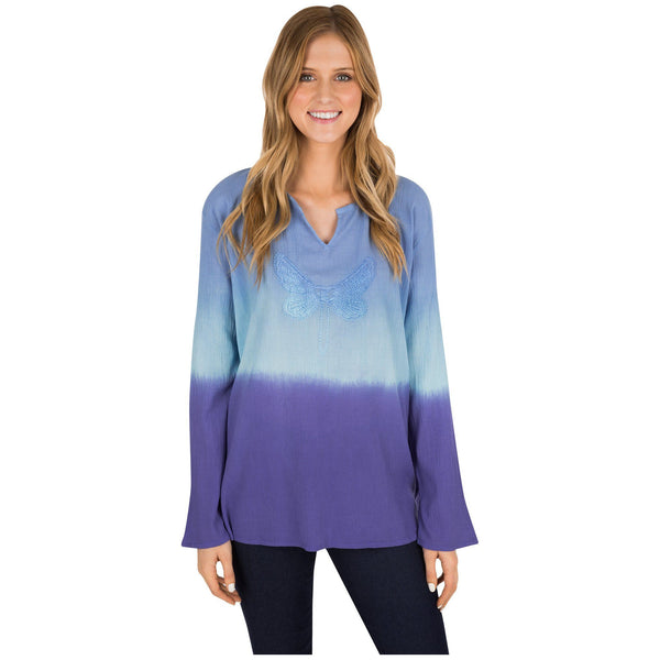 Dragonfly Delight Ombre Tunic