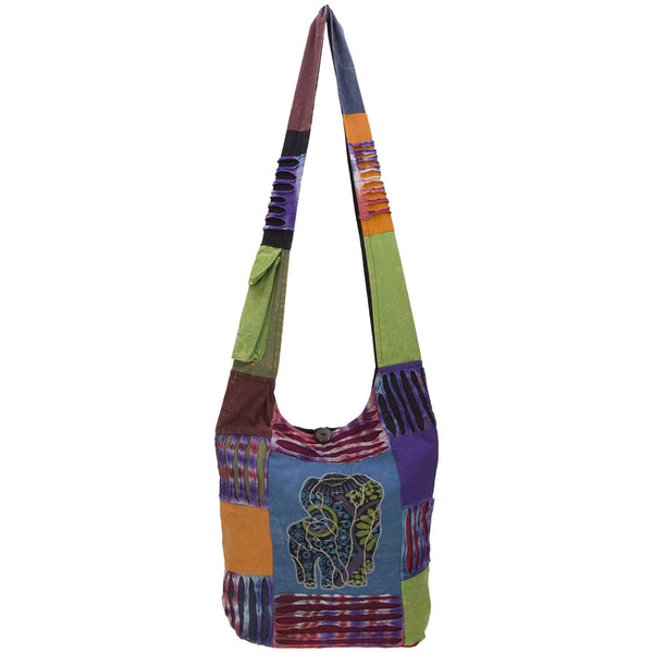 Elephant Love Hobo Bag