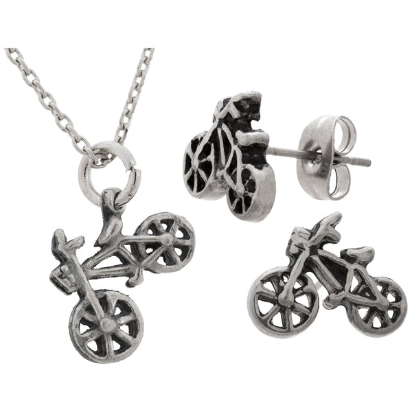Life Is A Beautiful Ride Pewter Jewelry Collection