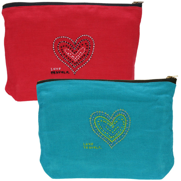 Love Travels Pouch