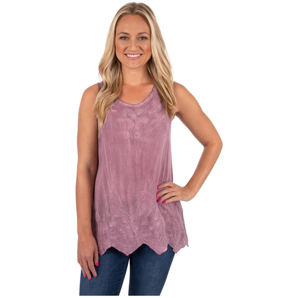 Mystic Charm Sleeveless Tunic