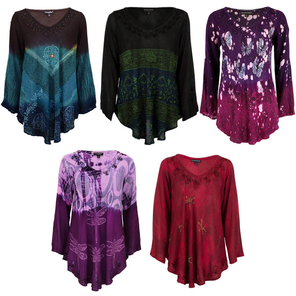 Nature's Wonder Long Sleeve Tunic