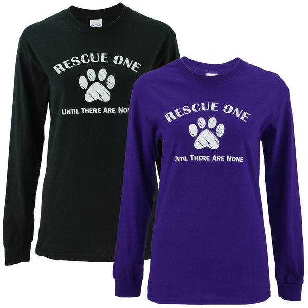Rescue One Until There Are None Long Sleeve T-Shirt