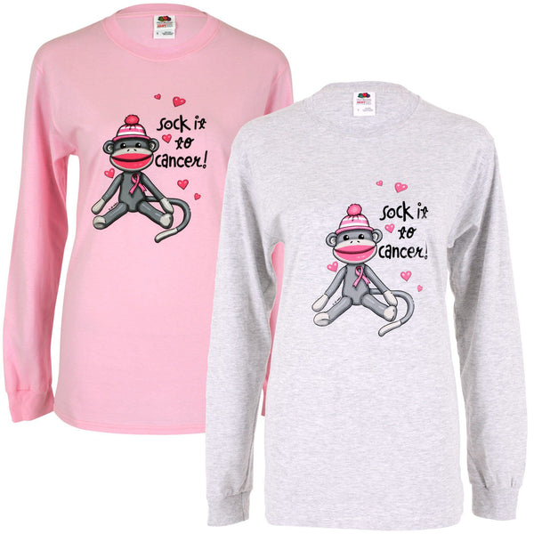 Sock It To Cancer Long Sleeve T-Shirt
