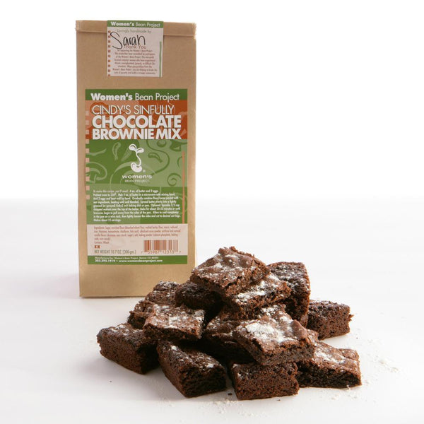 Women's Bean Project Cindy's Sinfully Chocolate Brownies