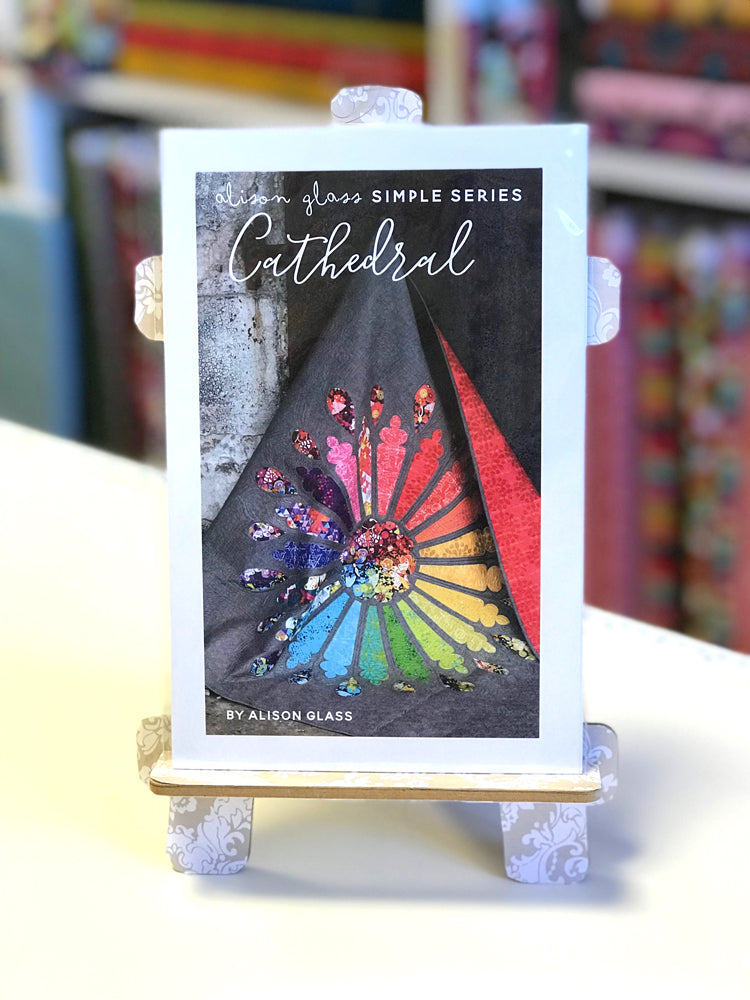 Alison Glass - Cathedral quilt pattern - Craftyangel