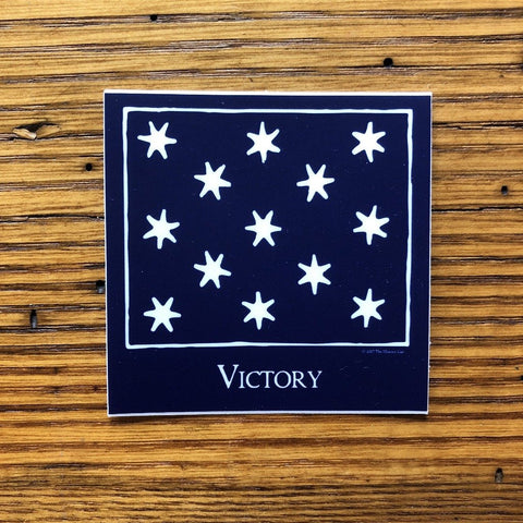 """Victory"" Sticker from The History List Store"