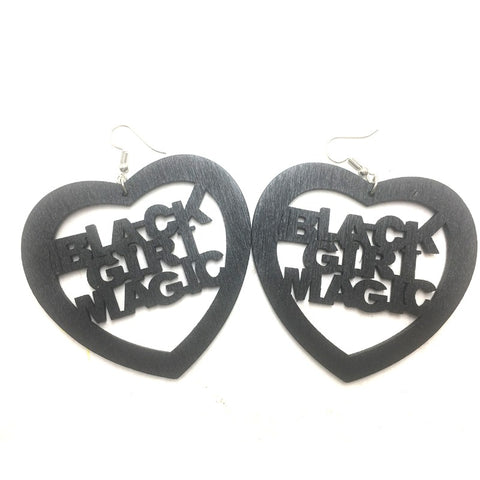 Black girl magic, black girl power, african and proud, african american earrings, jewelry, african jewelry, black power,