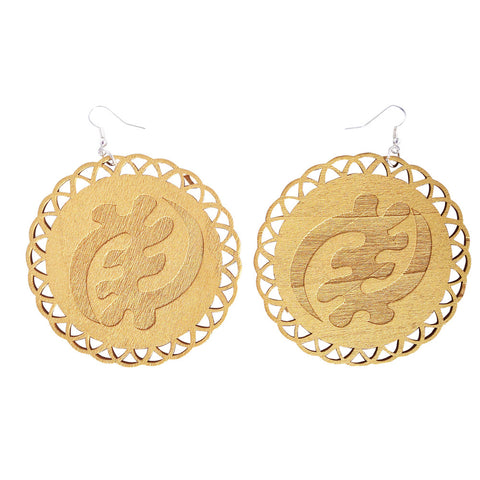 Gye Nyame earrings | Gye Nyame Jewelry | Gye Nyame clothing | Adinkra Gye Nyame | Adinkra earrings | Adinkra Jewelry