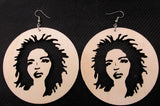 Lauryn hill earrings | Lauryn hill earring | lauryn hill jewelry | afrocentric jewelry | afrocentric earrings | natural hair earrings