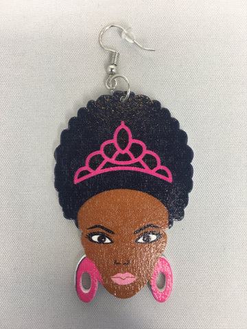 afro earrings princess earring afrocentric jewelry natural hair accessories kids accessory children ear candy fashion outfit idea jewellery hairstyles tutorial 4b 4c 4a