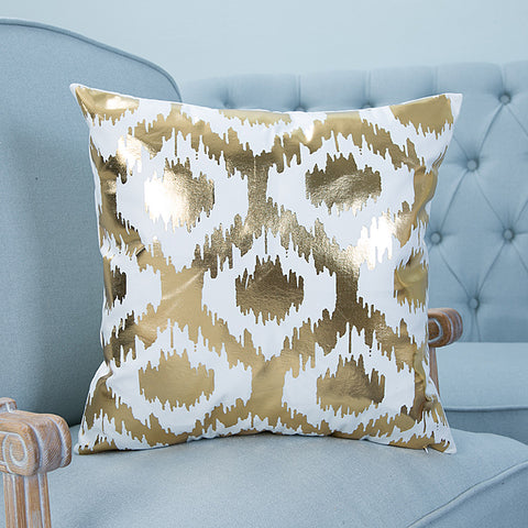 love gold pillow case cover home decor first apartment white unique urban decoration teenager room