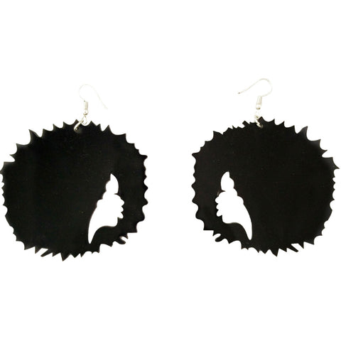 afro earrings; afrocentric earrings; afrocentric fashion; afrocentric accessories; natural hair earrings;