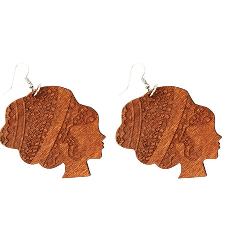 afro earrings; afrocentric earrings; afrocentric jewelry;  natural hair earrings;
