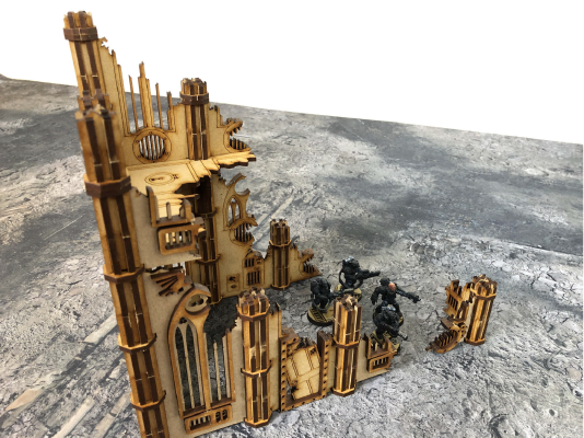 Shrine Emperus Terrain Set