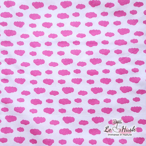 Pink Cloud Baby Bolster