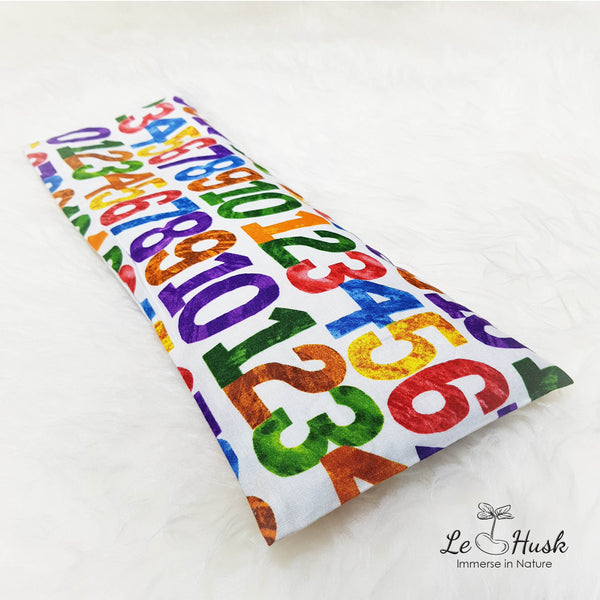 Colorful Crayon Numbers Baby Pillow (USA Import)