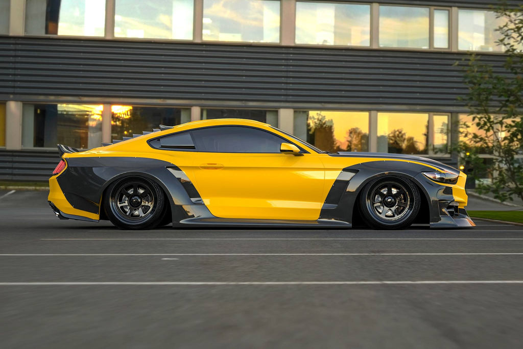 Clinched's New 15-17 Mustang Widebody Kit Unveiled for SEMA