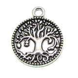 Antique Silver Tree of Life Charm at BaublesOfFun.com