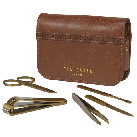 ted baker brogue manicure set