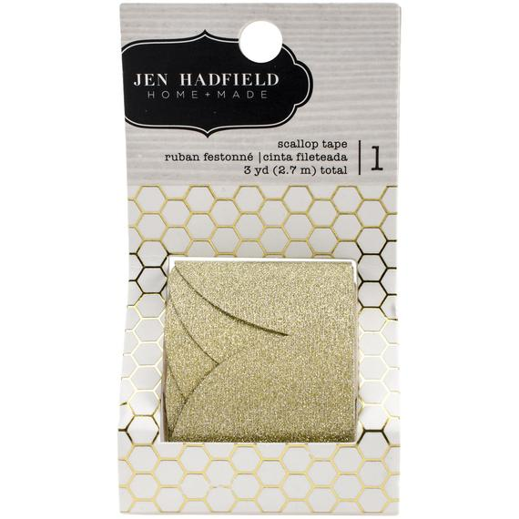 Decorative Gold Scallop Tape
