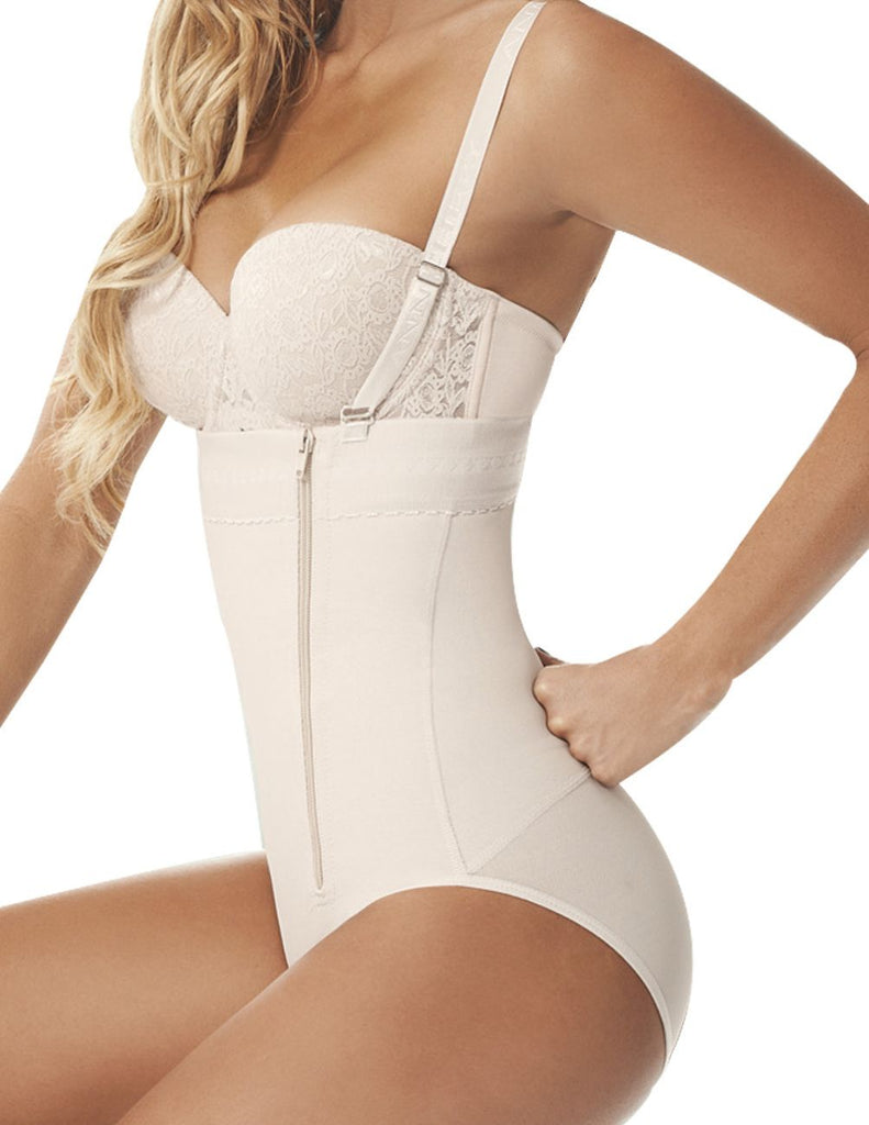 Ann Chery 1043 Powernet Body Fiorell Color Beige