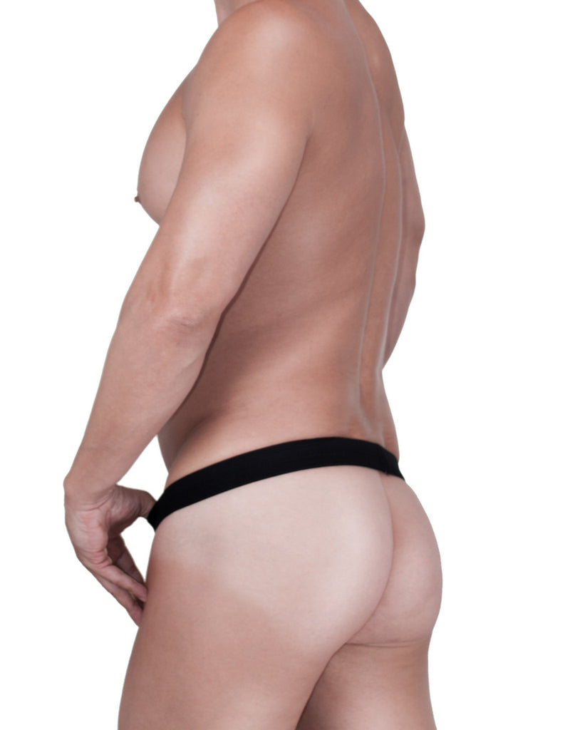 WildmanT Raw Strapless Mesh Jock Black