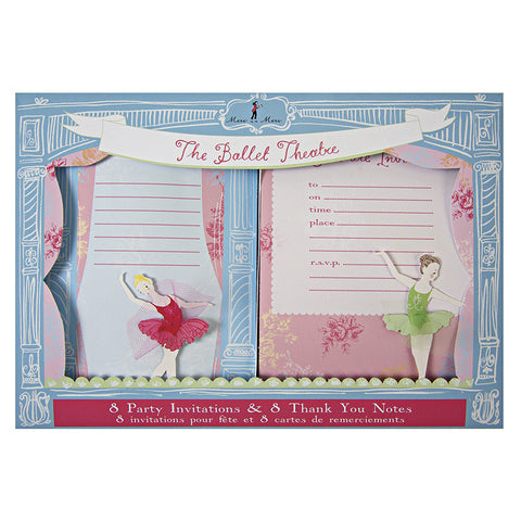 Little Dancers Invitaciones - Miss Coppelia