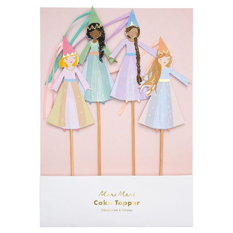 Magical Princess - toppers para tarta