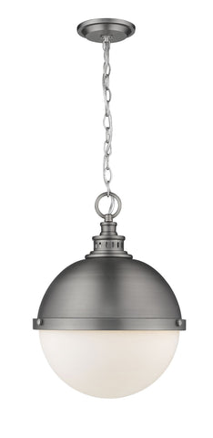 Z-Lite 619P14-AN Peyton Collection 2 Light Pendant Antique Nickel Finish