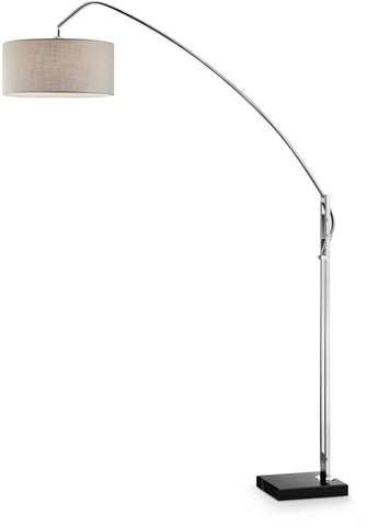 Ok Lighting OK-9746SR Avant Brushed Nickel Arch-Floor Lamp - PeazzLighting