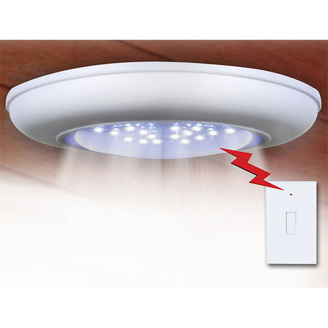 Cordless Ceiling/Wall Light with Remote Control Light Switch - PeazzLighting