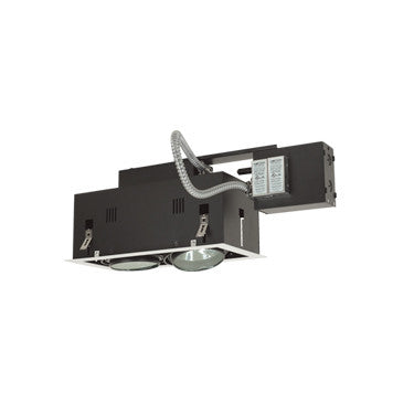Jesco Lighting MGRA175-2EWB Two-Light Double Gimbal Linear Recessed Fixture Low Voltage - PeazzLighting