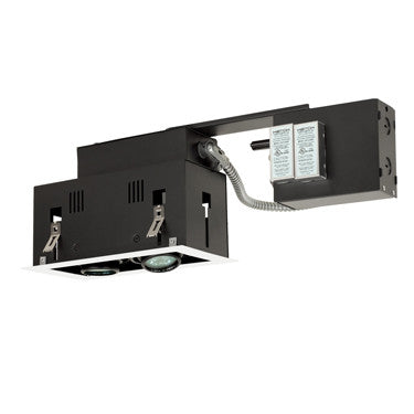 Jesco Lighting MGR1650-2EWB Two-Light Double Gimbal Linear Recessed Fixture Low Voltage - PeazzLighting