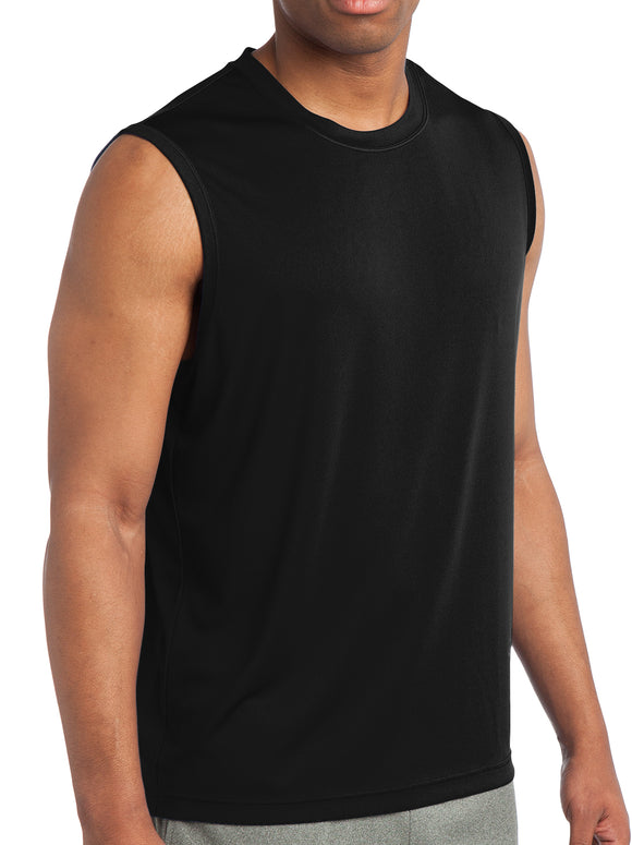 Polyester Muscle Yoga Shirt