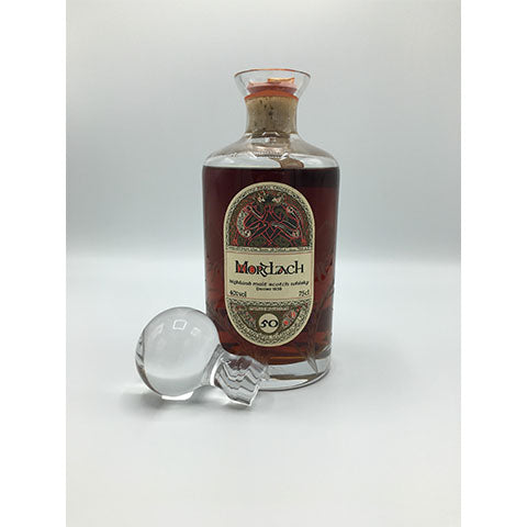 1936 MORTLACH 50YO, G&M DRAM TAKER'S SERIES, CRYSTAL DECANTER, 750ml, 40%