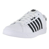 MENS HOKE CMF LEATHER WHITE BLACK