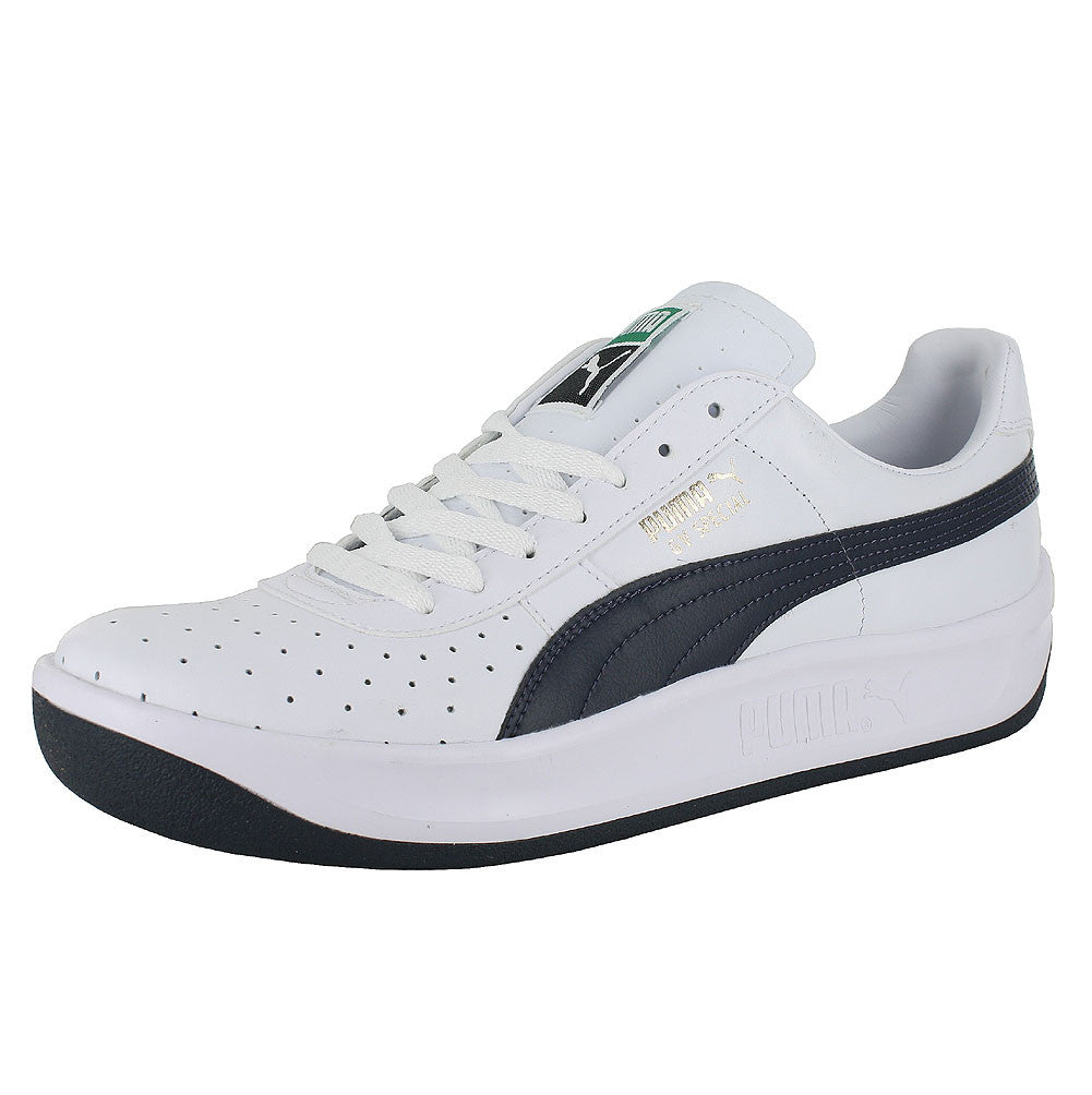 MENS PUMA GV SPECIAL WHITE NEW NAVY