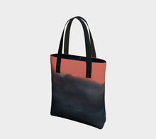 Load image into Gallery viewer, indigo and living coral handbag