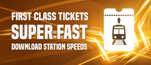 First Class Ticket (choose duration when ordering)