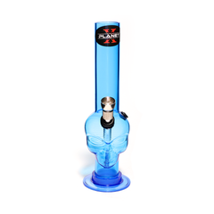 PLANET X ALIEN LEADER BLUE ACRYLIC MINI BONG