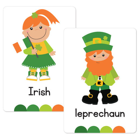 St Patrick's Day Flash Cards