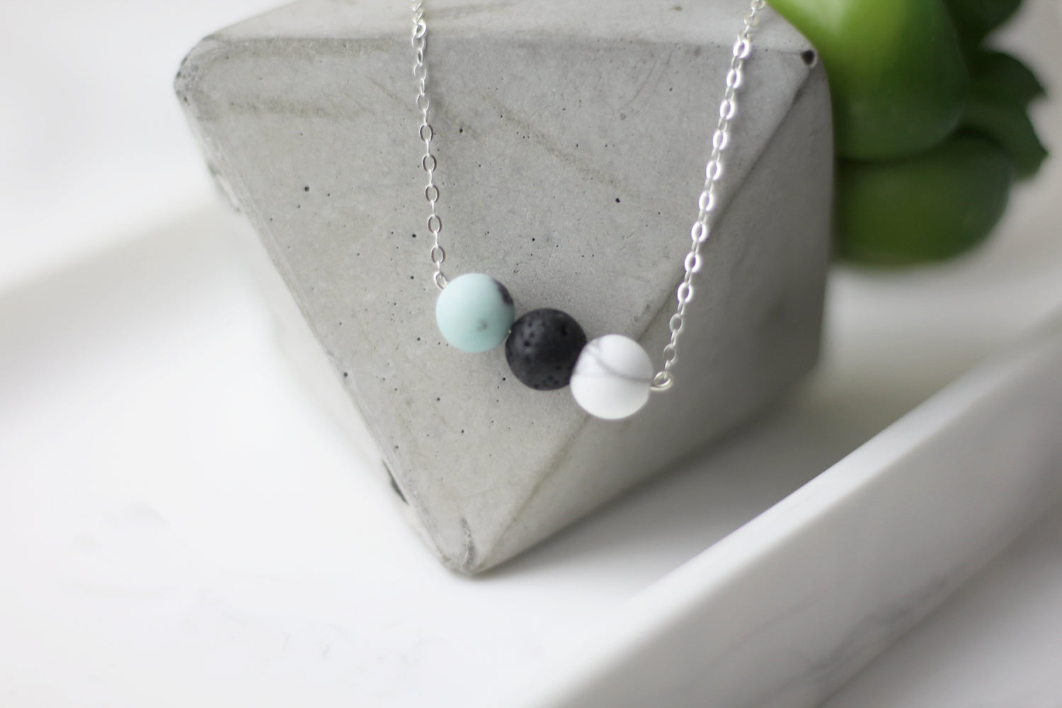 Emotions Control Lava Beads Diffuser Necklace
