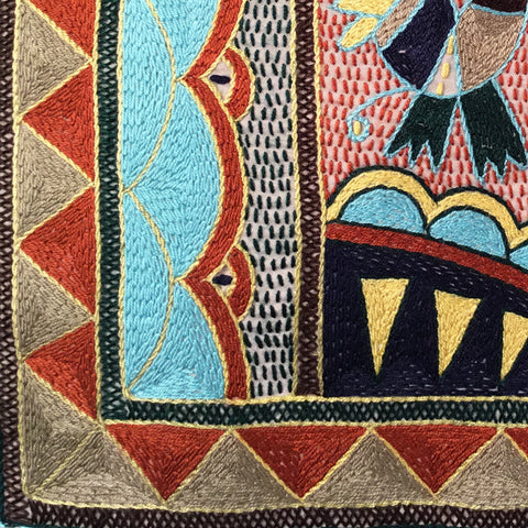 Mopani Moments Canopies of Trees Embroidered Cloth