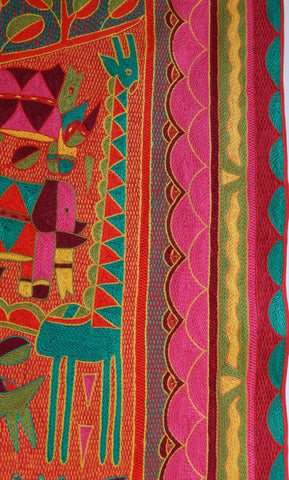 Shangaan Love African Jewels embroidered Cloth
