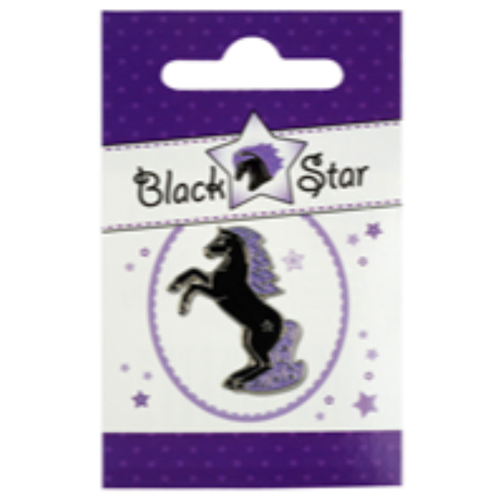 Happy Ross Blackstar Lapel Pin