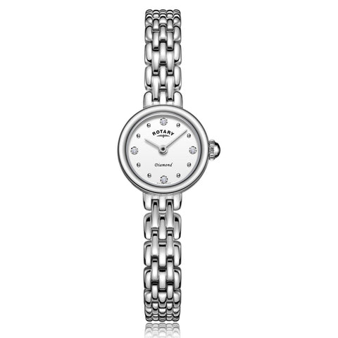 Ladies' Rotary Balmoral in stainless steel LB05152/70/D